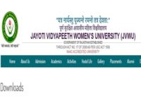 JVWU Previous Papers