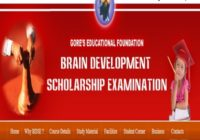 Brain Development India Scholarship Exam results
