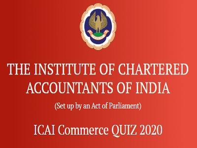 ICAI Quiz On Commerce