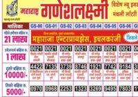 Maharashtra Ganesh Laxmi Holi Lottery Result