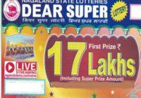 Sikkim Dear Super Lottery Result