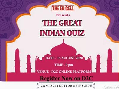 Great Indian Quiz SIMS Pune D2C