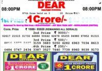 nagaland Dear Vulture Lotteyr Result friday