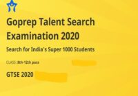 GTSE Goprep Talent Search Examination Results