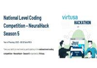 Virtusa Neuralhack Season 5 Stage 1 & 2 Results 2021