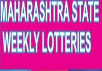 Gajlaxmi Weekly Lottery Result Sunday 4-15 PM