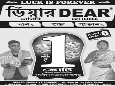Nagaland Dear ganga Lottery Results
