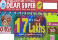 Nagaland Dear Super Lottery Results