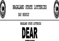 Nagaland Dear Jupiter Lottery Results 4 PM