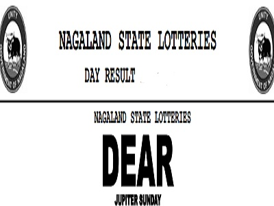 Nagaland Dear Jupiter Lottery Results 4 PM