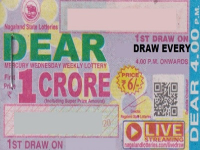 Nagaland Dear mercury Lottery Results
