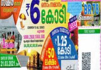 Summer Bumper BR-78 Kerala Lottery Results 21-3-2021