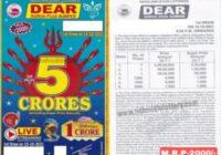Nagaland Dear durga puja Bumper Lottery result 2021